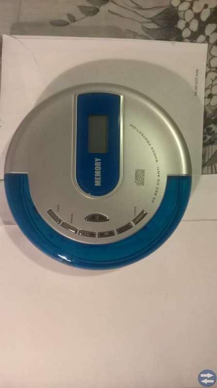 Bärbar  cd  spelare
