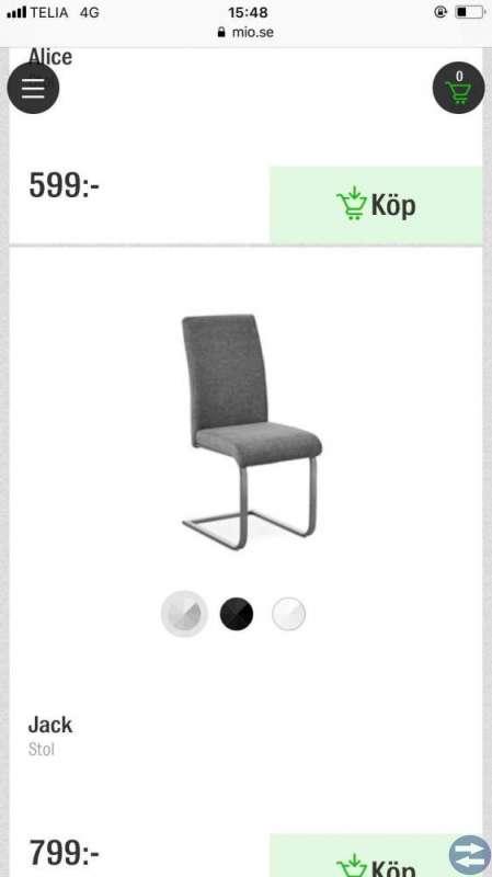 Kök stolar med bord