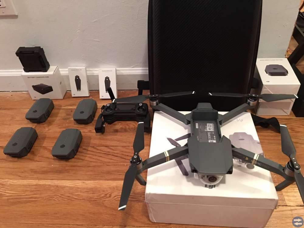 DJI Mavic Pro Drone flyga mer combo.
