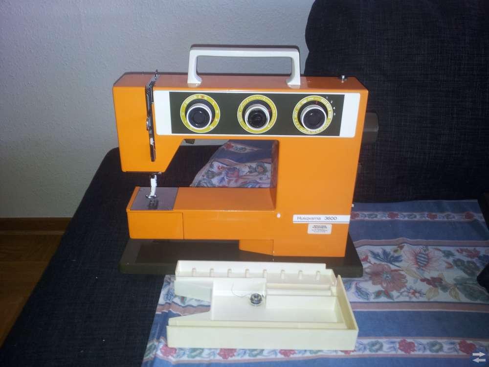 Husqvarna 3600 symaskin orange