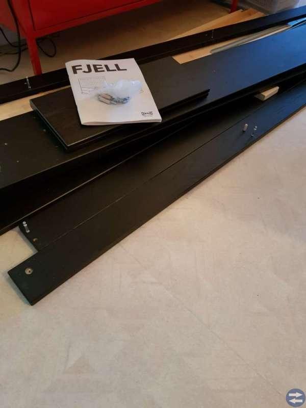 Sängstomme Fjell från Ikea.