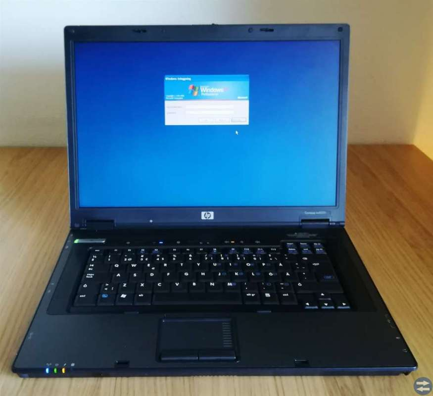 HP Compaq nx 8220 15 laptop med Windows XP Pro