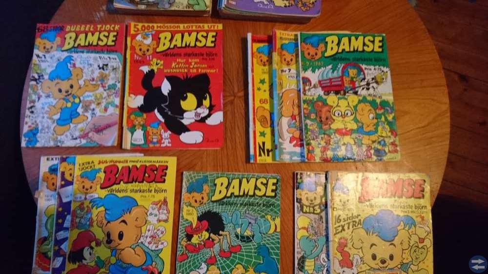 Bamsetidningarna 80-89