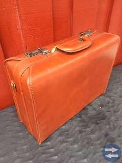 Läder väska