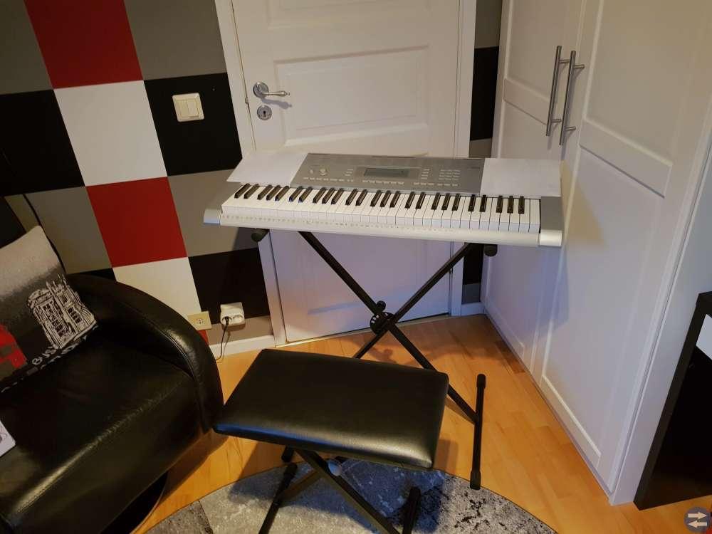 Studioutrustning + keyboard