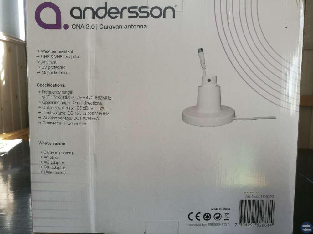 Antenn till husvagn