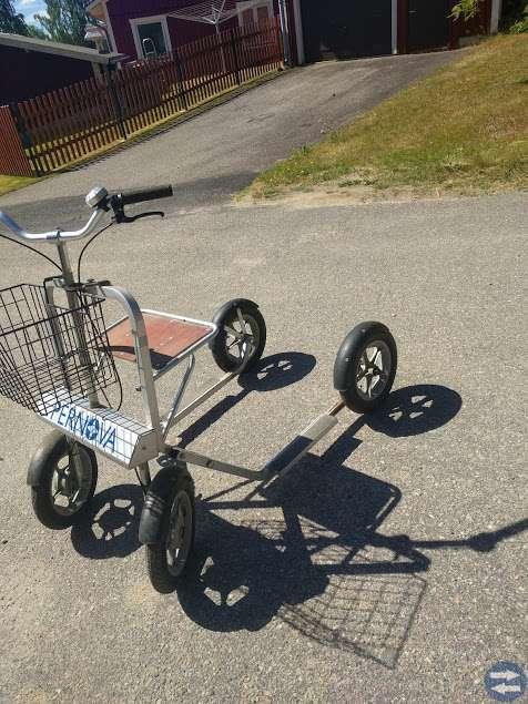 4-Hjulig sparkcykel Typ Rollator