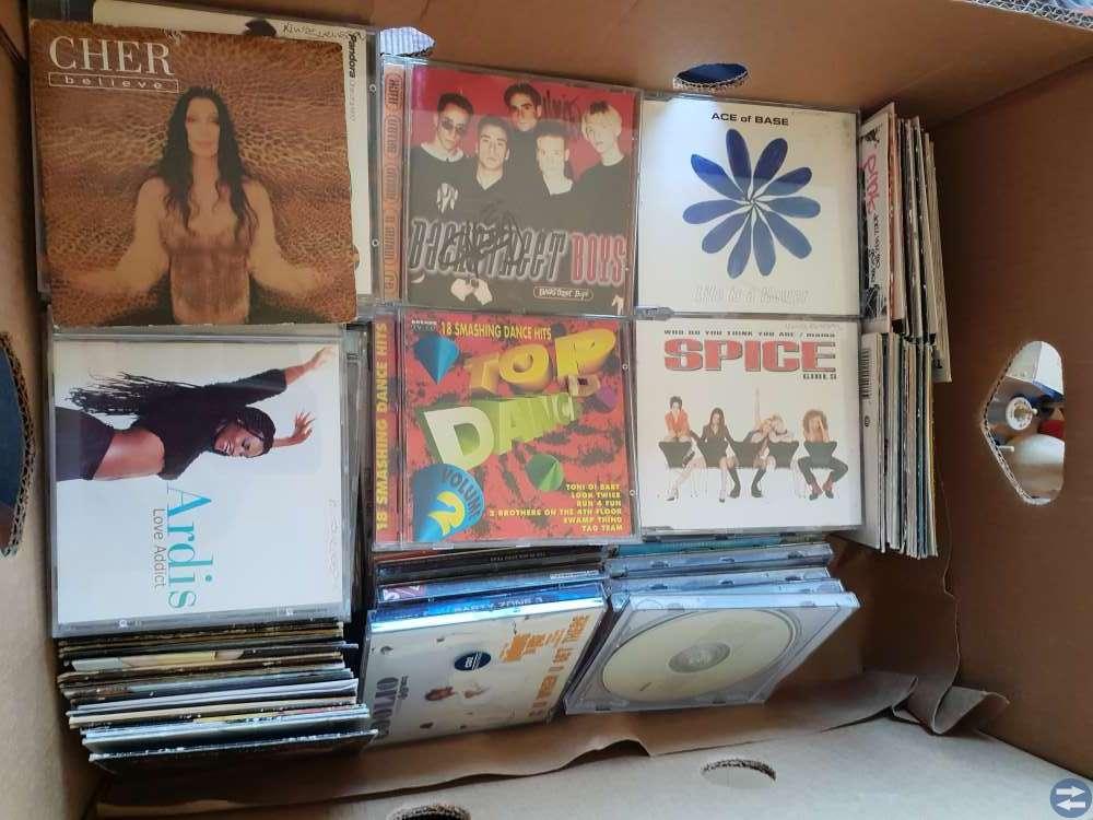 Rock och pop cd skivor
