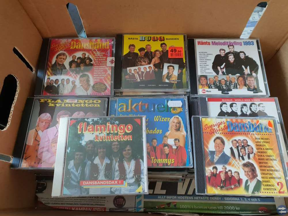 Dansbands cd
