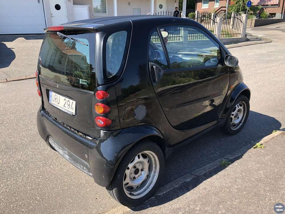 Smart fortwo perfekta stadsbilen