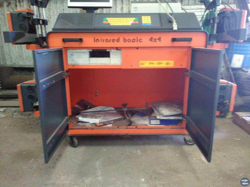 Hjulsinställning Infrared basic 4x4