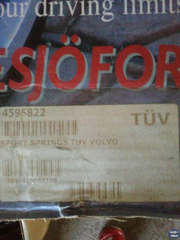 Sänkningssats Volvo v70 - 00-
