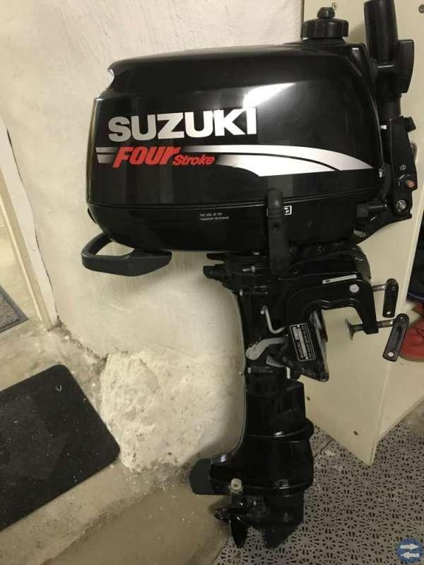 QuickSilver gummibåt/ribbåt med Suzuki 6 hk
