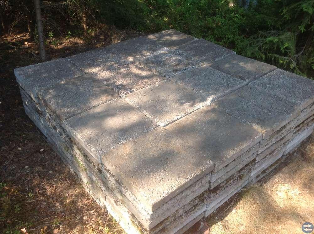 Trädgårdsplattor betong