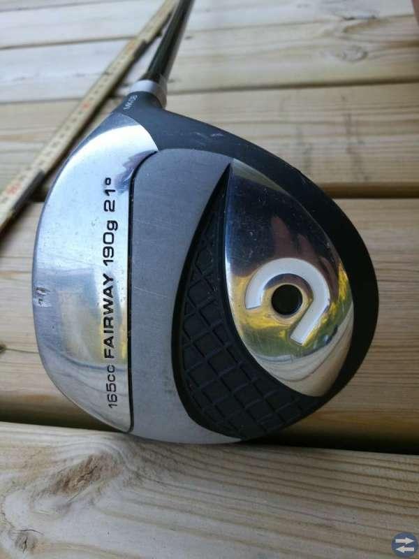 Golfklubba fairway wood junior