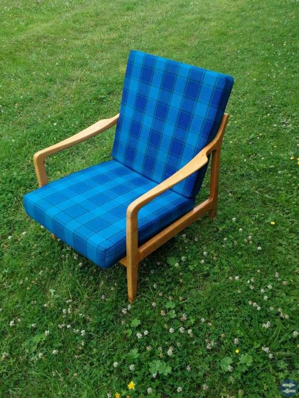 2 st 60-tals stolar samt soffa