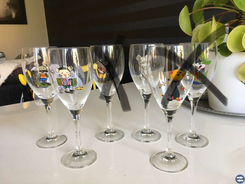 Lasse Åberg glas och karaffer