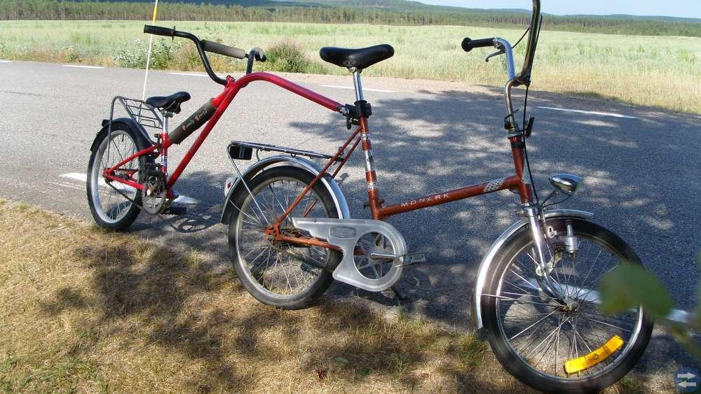 Cykel efterdyning   (Efterlöber)