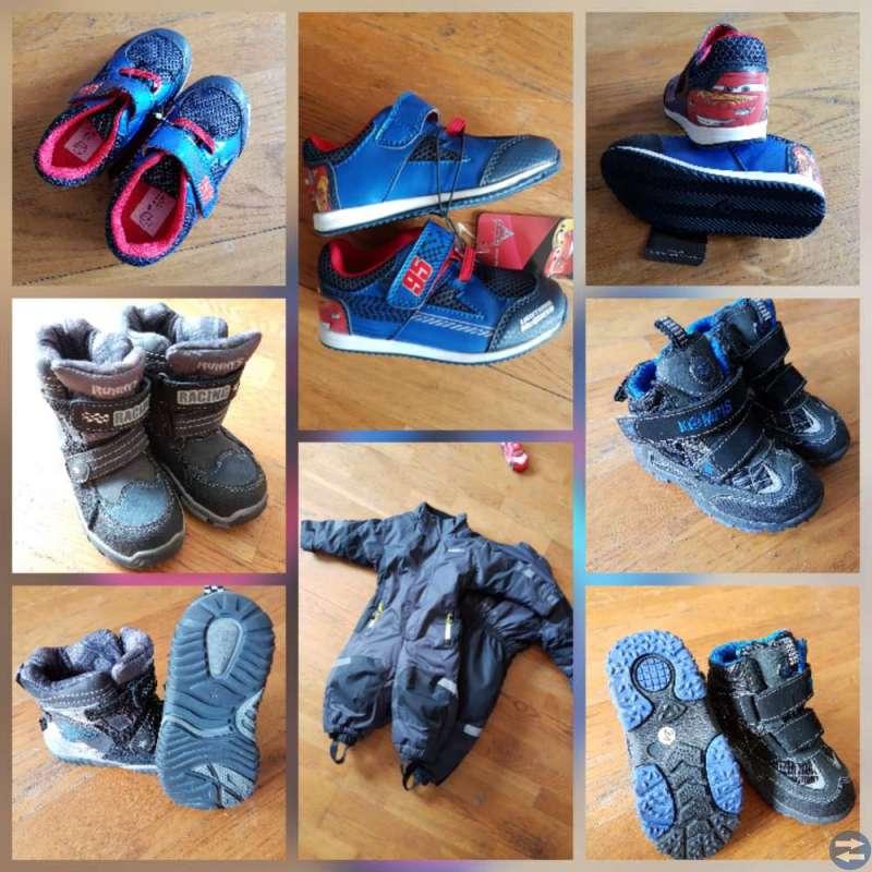 Vinterkängor, overaller och skor