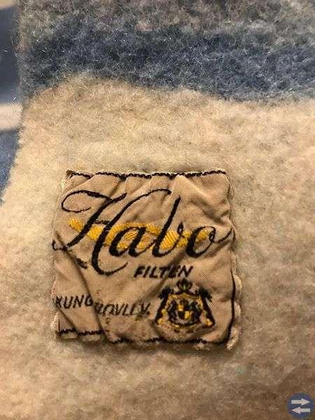 Habo filt i ull 80x145 cm