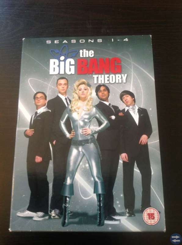 The Big Bang Theory Säsong 1-4
