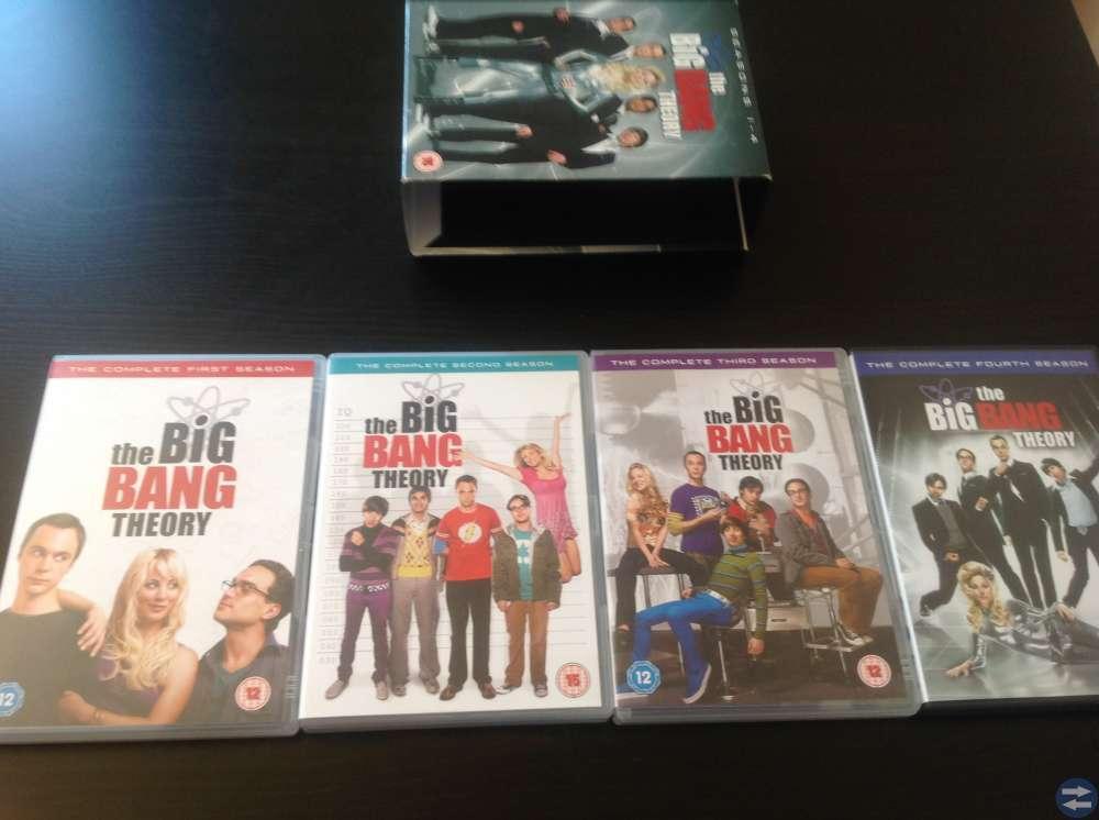 The Big Bang Theory Säsong 1-4
