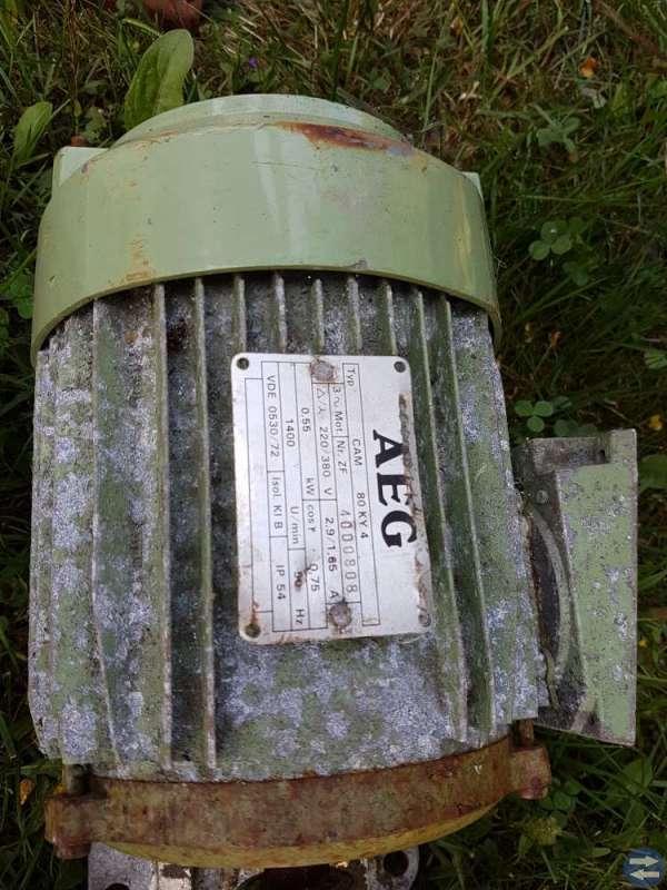 El-motorer og ventiler
