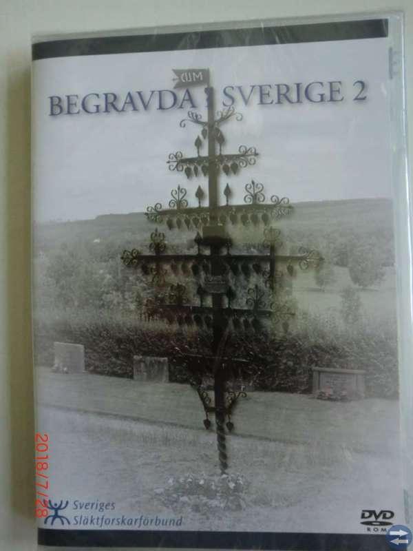 Dvd  Begravda i Sverige 2