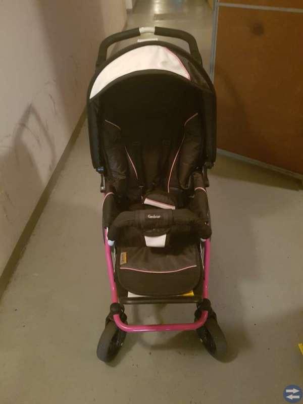 Emmaljunga scooter vagn