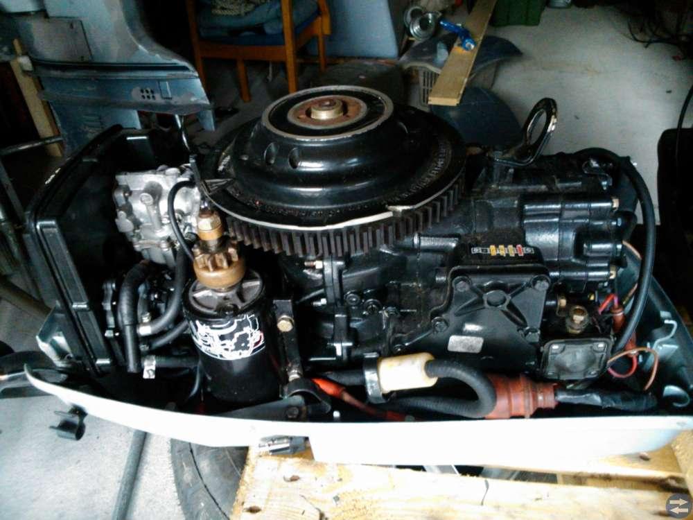 Evinrude 40 hk motorhuvud