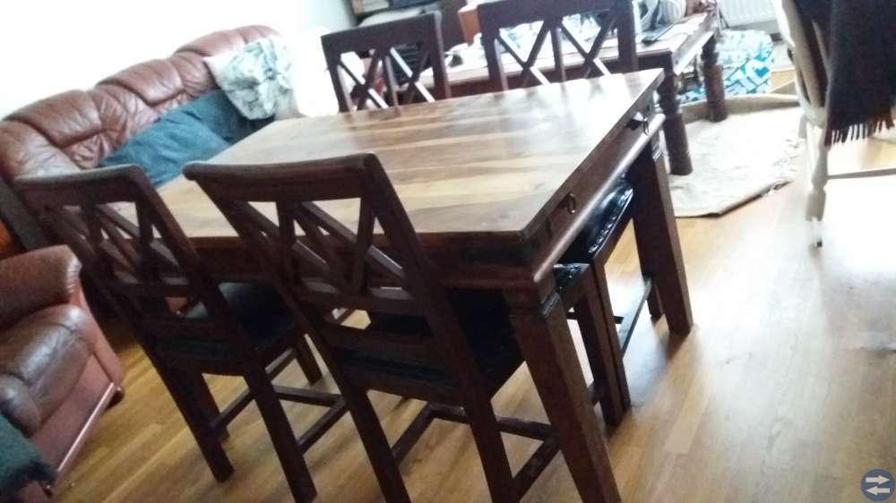 Engelsk köksbord +4 stolar