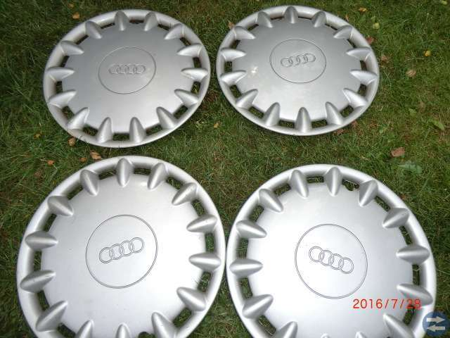 Kända 4 st Audi hjulsidor original 16 tum - Ronnebytorget.se - Annonsera CM-88