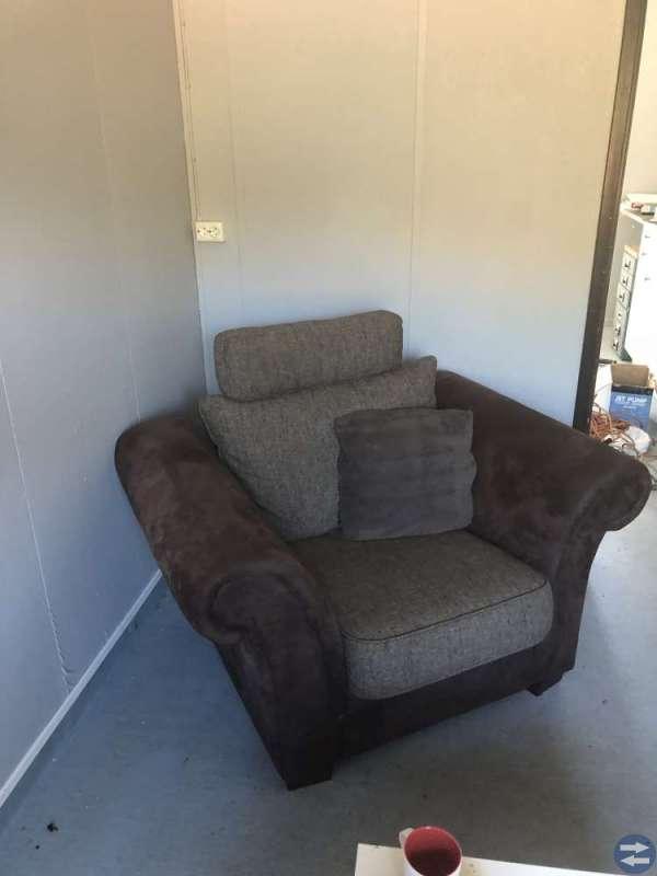 3-sits soffa och fåtölj