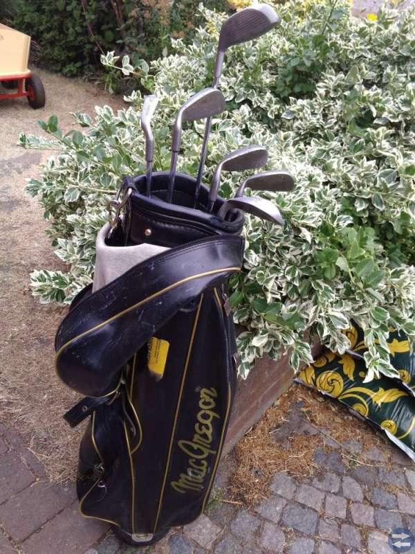 Golfset med bag - herr