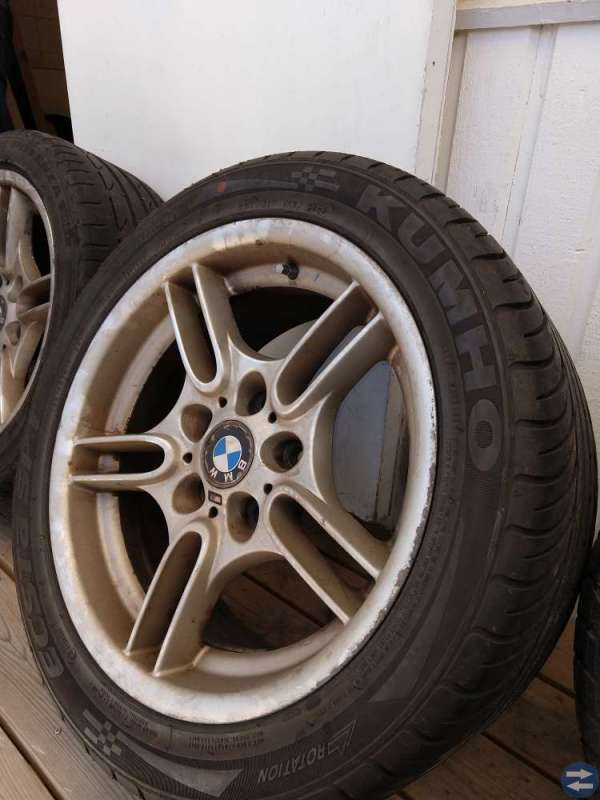 BMW 5 serie E39 fälgar