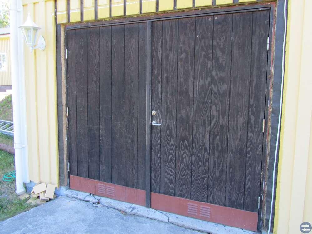 Garage / slagport