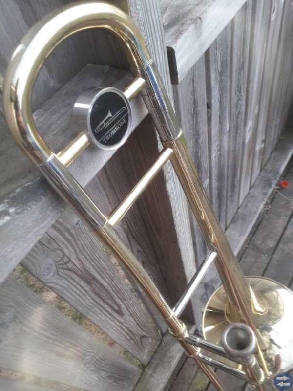 En guldig trombon
