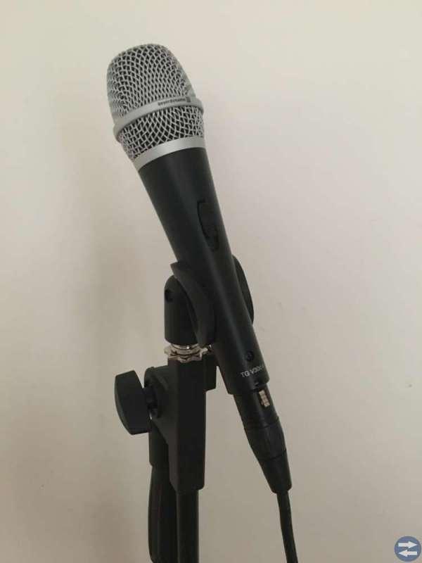 Mikrofon inkl. förstärkare