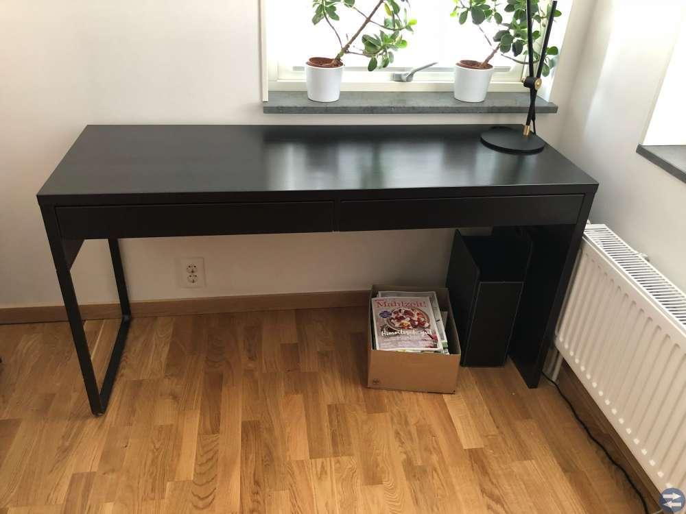 IKEA Micke skrivbord & Kallax hylla