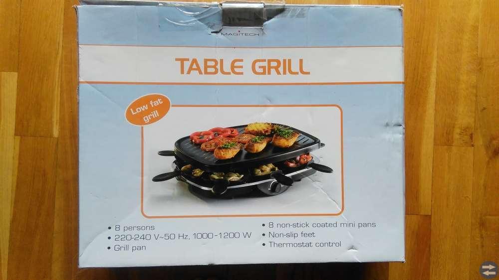 Bordsgrill / raclette (eldriven)