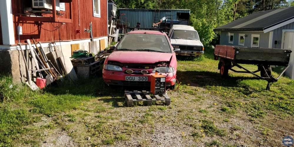 Ford Mondeo 2,0 Glx 1994 Röd