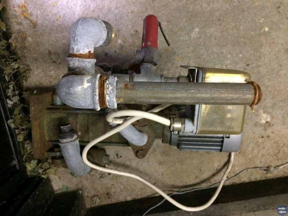 Hydrofor 150 liter och Ejektorpump