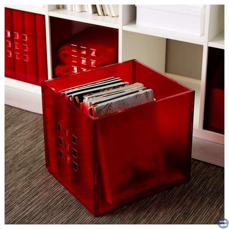 Gröna Dröna lådor + röda Lekman lådor