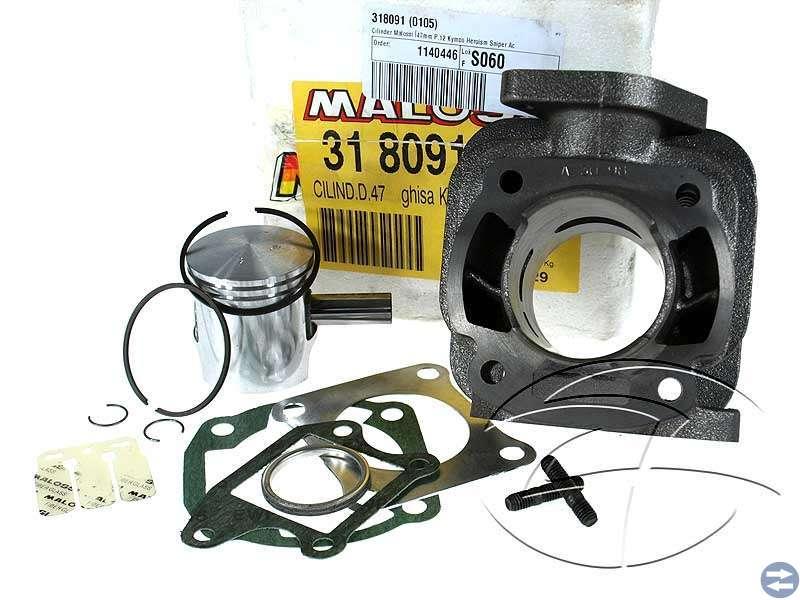 Malossi cylinder komplett till kymco mxu