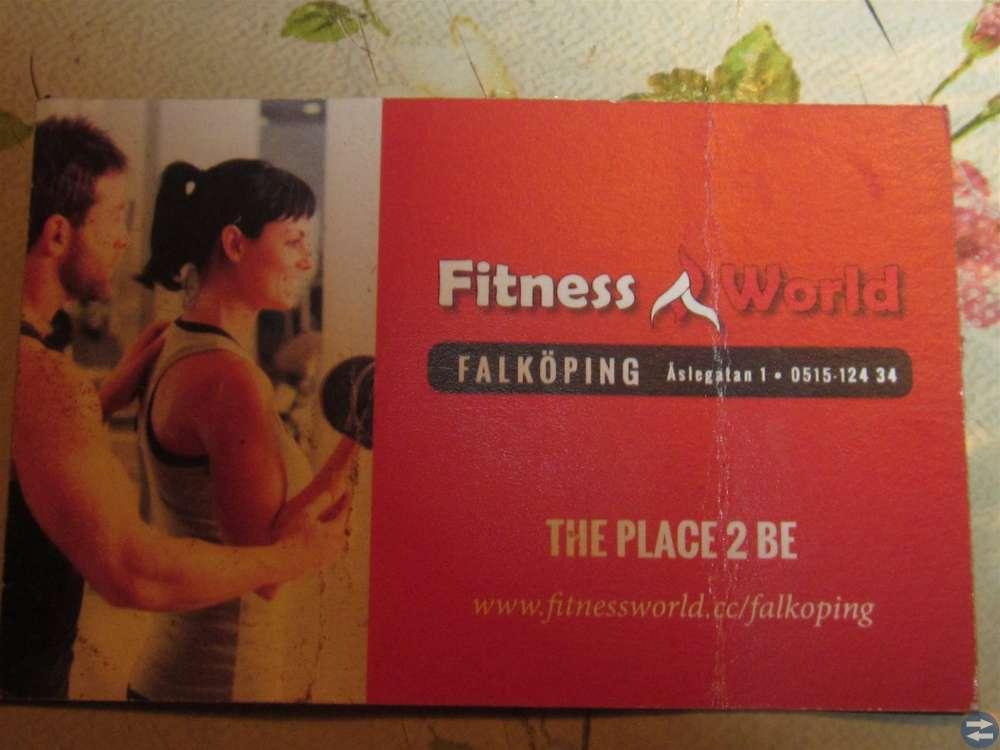 Gymkort Fitness World