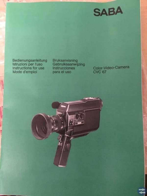 SABA CVC 67 Videokamera