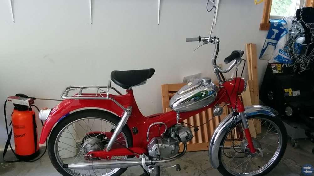 Moped Puch Florida VOV 1460 Årsmodell 1973
