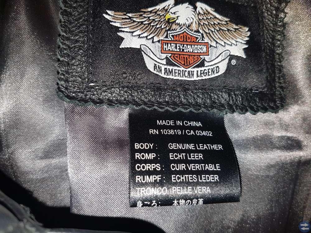 Harley Davidson  mc jacka
