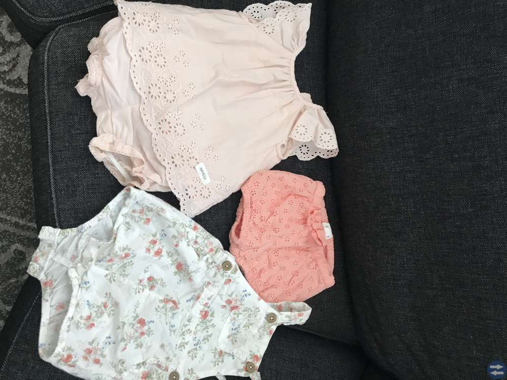 Flick kläder från strl 50-62 (klädpaket)