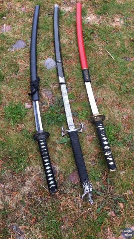 Äkta samuraj svärd